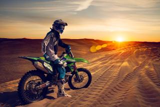 UAE Desert Motocross - Fondos de pantalla gratis para Nokia X2-01