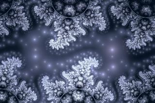 Snow Fractals Abstract - Obrázkek zdarma pro Samsung Galaxy Note 2 N7100