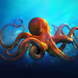 Octopus HD - Obrázkek zdarma pro iPad 2