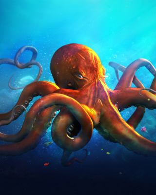 Octopus HD - Obrázkek zdarma pro Nokia C6