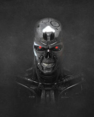Terminator Endoskull - Obrázkek zdarma pro Nokia 206 Asha