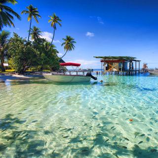 Stunning Seashore Landscape - Obrázkek zdarma pro iPad mini