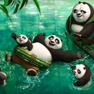 Kung Fu Panda 3 - Obrázkek zdarma pro 2048x2048