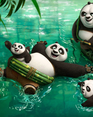 Kung Fu Panda 3 - Obrázkek zdarma pro Nokia Lumia 820
