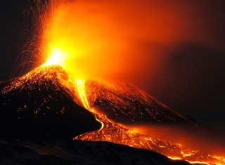 Eruption - Obrázkek zdarma pro Sony Xperia Z