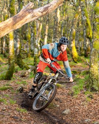 Mountainbike - Obrázkek zdarma pro Nokia C-Series