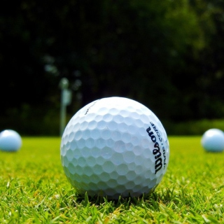 Golf Ball - Obrázkek zdarma pro iPad 2