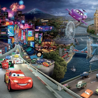 Cars 2 - Obrázkek zdarma pro iPad Air
