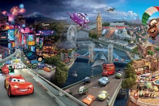 Cars 2 - Obrázkek zdarma pro Sony Xperia Tablet Z