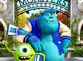 Free Monsters University Picture for Android, iPhone and iPad