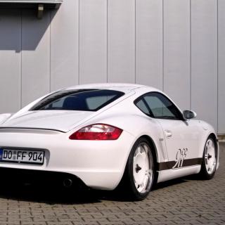 Porsche Cayman S - Obrázkek zdarma pro 320x320
