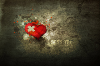I Miss You Wallpaper for Android, iPhone and iPad