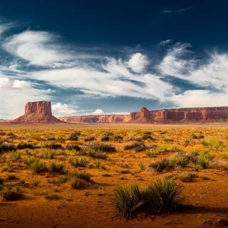 Desert and rocks - Obrázkek zdarma pro 208x208