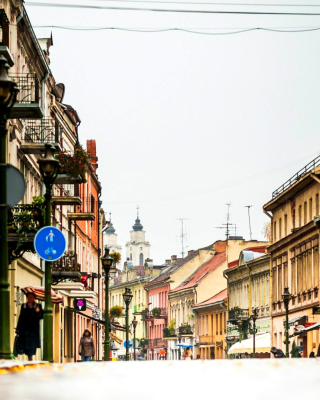 Kaunas, Lithuania - Obrázkek zdarma pro Nokia Asha 501