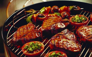 Delicious Grill Wallpaper for Android, iPhone and iPad