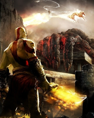 God of War III - Obrázkek zdarma pro Nokia Asha 309