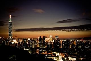 City At Twilight - Obrázkek zdarma pro Samsung Galaxy Tab S 8.4