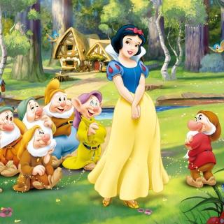 Snow White and the Seven Dwarfs - Obrázkek zdarma pro 208x208
