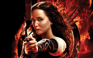 Katniss Jennifer Lawrence Wallpaper for Android, iPhone and iPad