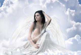 Angel - Obrázkek zdarma pro Fullscreen Desktop 1400x1050
