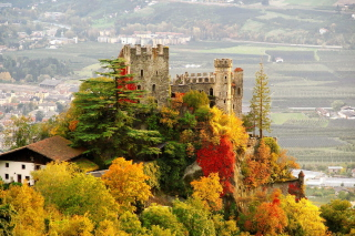 Brunnenburg Castle in South Tyrol Picture for Android, iPhone and iPad