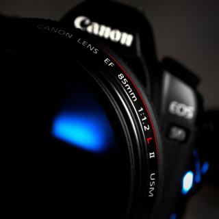 Canon Lens - Obrázkek zdarma pro iPad