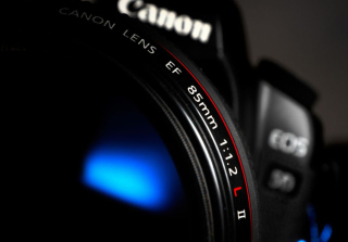 Canon Lens - Obrázkek zdarma pro Android 480x800