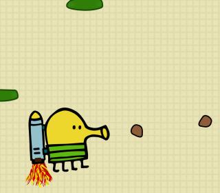 Doodle Jump Game - Obrázkek zdarma pro iPad Air