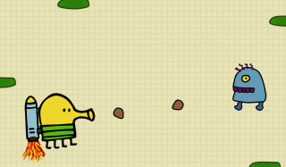 Doodle Jump Game - Obrázkek zdarma pro Sony Xperia Tablet S