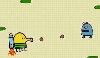Doodle Jump Game - Obrázkek zdarma pro Samsung Galaxy Grand 2