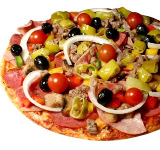 Paper Pizza - Obrázkek zdarma pro 320x320
