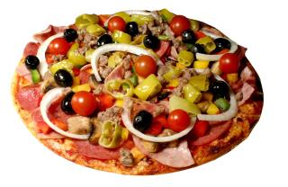 Paper Pizza - Obrázkek zdarma pro HTC Wildfire