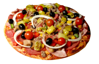Paper Pizza - Obrázkek zdarma pro LG Optimus L9 P760