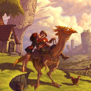 Dragon Riders - Obrázkek zdarma pro 128x128