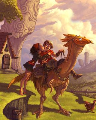 Dragon Riders - Obrázkek zdarma pro 480x800