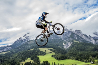 Bike Jump Wallpaper for Android, iPhone and iPad