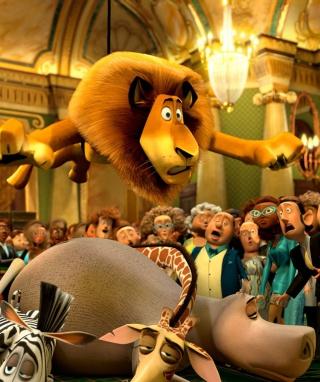 Madagascar 3 - Obrázkek zdarma pro 480x854
