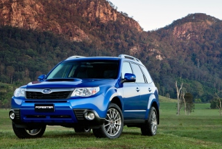Subaru Forester - Obrázkek zdarma pro Fullscreen Desktop 1400x1050