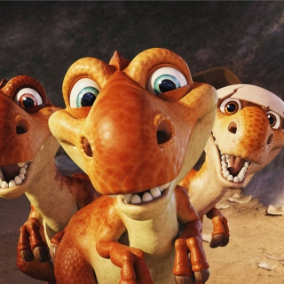 Ice Age Dinosaur - Obrázkek zdarma pro 1024x1024