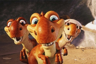 Ice Age Dinosaur - Obrázkek zdarma pro 480x320