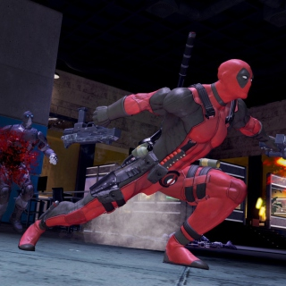 Deadpool Marvel Comics - Obrázkek zdarma pro 1024x1024