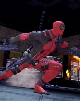 Deadpool Marvel Comics Picture for Nokia N8