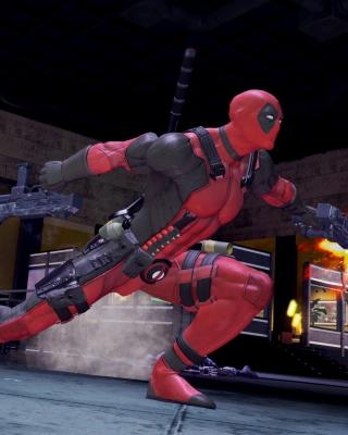 Deadpool Marvel Comics - Obrázkek zdarma pro 132x176