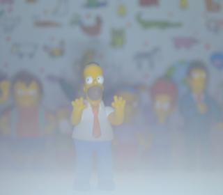 Simpsons - Obrázkek zdarma pro 320x320