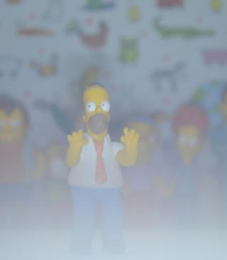 Simpsons - Obrázkek zdarma pro Nokia C-Series