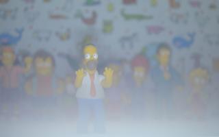 Simpsons - Obrázkek zdarma pro Nokia Asha 302