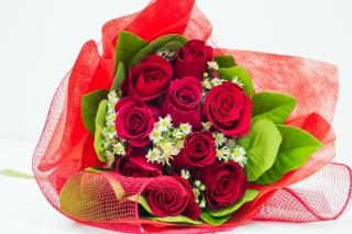 Romantic and Elegant Bouquet - Obrázkek zdarma pro Nokia Asha 210