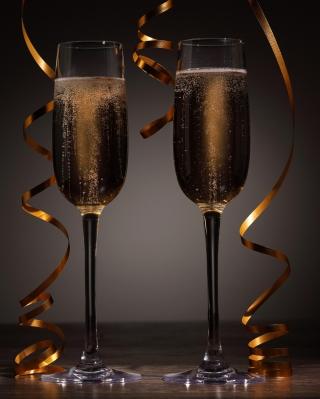 Holiday Champagne - Obrázkek zdarma pro Nokia Asha 303