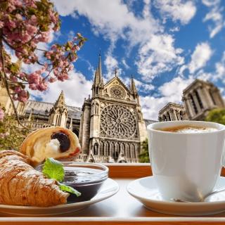 Breakfast in Paris - Obrázkek zdarma pro 1024x1024