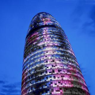 Torre Agbar in Barcelona - Obrázkek zdarma pro 2048x2048